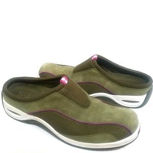 Cole Haan Nike Air Sage Green & White Mules Sz 9